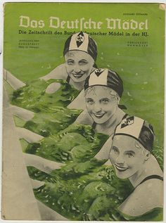 "If you were a German teenage girl in 1939, you would be a subscriber to Das Deutsche Mädel, the monthly journal of the ""League of German Girls"" (BDM or Bund Deutsche Mädel) under the auspices of the Hitler Youth (see more issues here). Three sections of the BDM accommodated girls from 10 to 21 years old, as long as the blood-line was free of any racial or ethnic impurities. Other than Nazi doctrine, the BDM was something like the Girl Scouts. Well, a Girl Scouts that was conditioning its…"