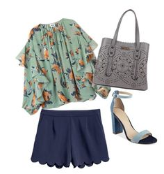 """Soft Summer"" by kodstylu on Polyvore featuring moda i GUESS"