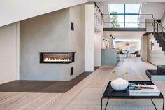 Douglasgran Parkett, Hvitoljet New Homes, Stairs, Plan, Bed, Furniture, Fire, Home Decor, Stairway, Decoration Home