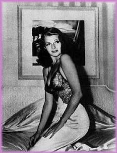 "' This was the most famous Hayworth pin-up picture. It was taken by Bob Landry and first appeared in a 1941 issue of Life magazine. It proceeded to become one of the most instantly recognizable pictures ever taken. Helen Gurley Brown, Editor-In-Chief of Cosmopolitan said of the picture ""I never saw a better 'girl' picture, and that includes about a million from Cosmopolitan!"" '"