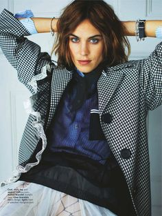 """Girl Most Likely"" Alexa Chung for Glamour UK April 2016"
