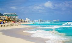 We pick the Best Beaches in Cancun and the Riviera Maya. See which beaches make the list and places Cancun as the Top vacation destination in Mexico. Cancun Mexico, Mexico Vacation, Mexico Travel, Cancun Vacation, Vacation Deals, Travel Deals, Travel Europe, Travel Guide, Cancun Excursions