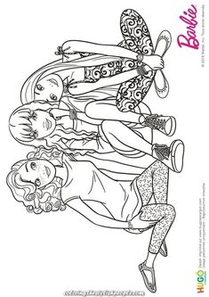 Luxurious Coloring and Barbie Fashionistas illustration, a bit of relaxation. Sitting within the grass, Barbie and her mates take a properly deserved break. Ballerina Coloring Pages, Barbie Coloring Pages, Coloring Pages For Girls, Cute Coloring Pages, Disney Coloring Pages, Coloring Pages To Print, Coloring Books, Barbie Drawing, Girl Drawing Sketches