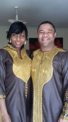 AFRICAN ENGAGEMENT WEDDING matching outfit by AFRICANISEDSHOP, £75.00 African Inspired Fashion, African Print Fashion, African Prints, African Dresses For Women, African Attire, African Women, Couple Outfits, Family Outfits, Fashion Couple