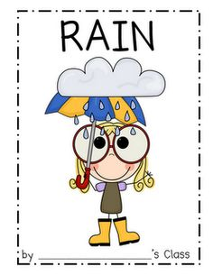 rain poem to go with weather unit