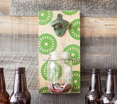 Lucky Bottle Opener. Make it Now with the Cricut Explore machine in Cricut Design Space.