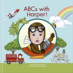 Our Bestselling Personalized Alphabet Book Is Perfect For Early Readers