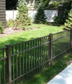 3' high aluminum fence