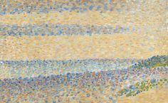 [フリー絵画素材] ジョルジュ・スーラ - 海の景色 (1890) ID:201309250400