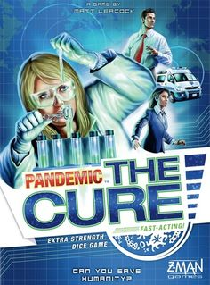 Theology of Games Double-Take #Review Pandemic: The Cure #Dicegames #Boardgames