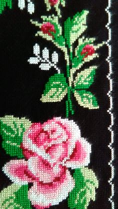 Diy And Crafts, Character, Vintage, Cross Stitch, Tricot, Dibujo, Needlepoint, Roses, Punto De Cruz