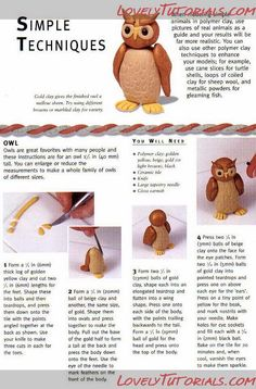 Owl Cake Topper Tutorial