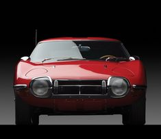 Toyota 2000GT Front