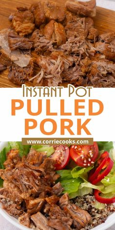 The shredded pork is unbelievably tender, with a flavorful pulled pork rub and cooked in a delicious sauce. It's perfect for making pulled pork sandwiches! Pulled Pork Rub, Making Pulled Pork, Instant Pot Pressure Cooker, Pressure Cooker Recipes, Shredded Pork, International Recipes, Sandwiches, Vegetarian, Beef
