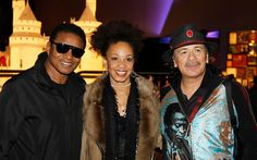 Carlos Santana and Cindy Blackman Photos Photos - (L-R) Jackie Jackson…