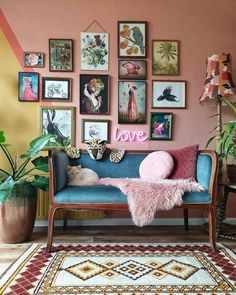 Thank you for sharing these beautiful wall decor including my work! - Thank you for sharing these beautiful wall decor including my work! 👍❤… Thank you for sharing these beautiful wall decor including my work! Eclectic Living Room, Eclectic Decor, Home Living Room, Living Room Decor, Modern Decor, Eclectic Gallery Wall, Retro Living Rooms, Eclectic Style, Modern Living