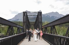 A Summer Wedding in the Candian Rockies (image from @envphotography via @luxemtweddings)