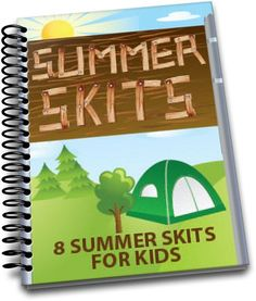 These 8 FREE Summer Skits are perfect for church, summer camp, VBS, or just for fun! Summer is an excellent time to use skits in your Children's Ministry. Church Camp, Kids Church, Church Ideas, Childrens Ministry Deals, Ministry Ideas, Youth Ministry, Children Ministry, Camp Skits, Skits For Kids