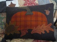 Pumpkin pillow...