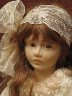 """Rosalba, bambola OOAK, insieme a Matilda è descritta nel libro """"I segreti per realizzare bambole OOAK, corso avanzato"""""""