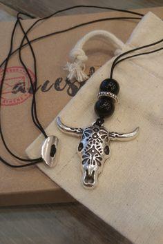 Ανδρικό κολιέ 'Bullseye' Ασημί Men Necklace, Washer Necklace, Pendant Necklace, Necklaces, Jewelry, Jewlery, Bijoux, Chain, Jewerly