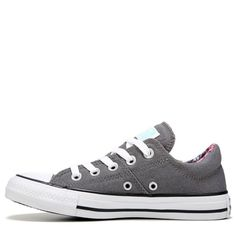 22c91420c1ac Converse Women s Chuck Taylor All Star Madison Low Top Sneakers  (Thunder White Black