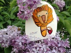 craft supplies///Oliver the lion the second.  by paintingthemoon, $5.00
