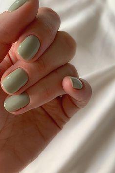 Short Nail Manicure, Cute Gel Nails, Summer Gel Nails, Short Gel Nails, Cute Acrylic Nails, Pretty Nails, Spring Nails, Short Rounded Acrylic Nails, Short Round Nails