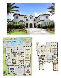 Plan Palatial Manor House Plan Plans for 'palatial manor home' - heated sq. House Plans Mansion, Bedroom House Plans, Dream House Plans, House Floor Plans, European House Plans, Modern House Plans, Casas The Sims 4, Luxury Homes Dream Houses, Mansions Homes