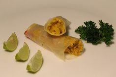El capricho saludable: Rollitos vegetarianos - Involtini vegetariani