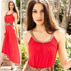 2014 New Sexy Women Sleeveless Long Maxi Summer Casual Sundress Beach Dress   eBay