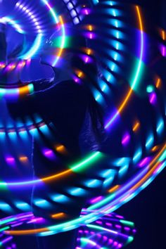 Hooping with all three of my LEDs :-) Picture taken by Richer Image