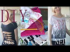 DIY | aus ALT mach NEU | T-Shirts Umgestallten |