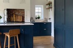 Renovation Tour - A Stunning Extension Carried Out From Overseas — Love Renovate Dark Green Walls, Bright Walls, Entrance Hall Decor, Wooden Panelling, 1930s House, Herringbone Tile, Feature Tiles, Big Kitchen, Planning Permission