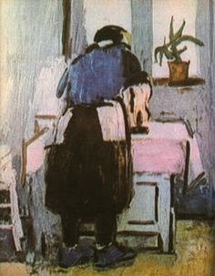 Young Girl Ironing by Louis Leopold Boilly, Very few women I know like to iron, and quite a few hate it. Post Impressionism, Impressionist, Frasier Crane, Iron Art, Paintings I Love, International Artist, Romania, Art Boards, Oil On Canvas