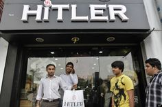 """Hitler"" clothing store in Ahmadabad, Gujarat"