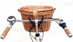 Panier de vélo hollandais Basil de vélo en osier avec couvercle Denver 30 €