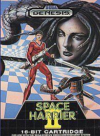 Space Harrier II (Sega Genesis, 1988)  w/Box No Manual 10086011029   eBay