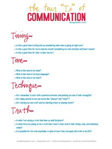 4 Tips of Communication