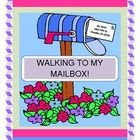 """""""WALKING TO MY MAILBOX!"""" - COMMUNITY HELPER GAME!  Play a GROUP GAME, make a mail carrier CRAFT, and learn about getting mail!  This activity makes a great addition to your Community Helpers theme.  Practice initial sound alliteration and days-of-the-week order with an ACTIVE game that holds a 'surprise' at the end!  Your kids will march, tip-toe, wiggle, fly, and slide!  Got two shoeboxes and two greeting cards?  Your kids are ready to play a fun Language Arts Game! (7 pages) March in March! $"""