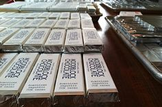 WOODBLOCK CHOCOLATE, Portland, Oregon's own bean to bar chocolate makers (C / O / USA)