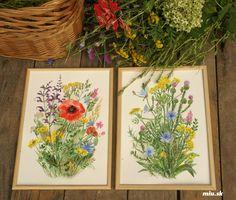 Lúčne kvety 2, tlač A4 – miu.sk