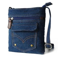 2016 New Fashion Women Handbags Lady Messenger Hobo Bag Shoulder Bags Tote Purse. 2016 New Fashion Women Handbags Lady Messenger Hobo Bag Shoulder Bags Tote Purse clutches Denim fabric women's b Denim Purse, Tote Purse, Hobo Bag, Crossbody Bags, Denim Jeans, Denim Bags From Jeans, Casual Jeans, Purse Wallet, Denim Handbags