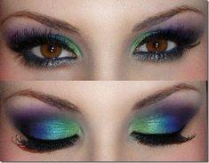 brown eyes makeup 43