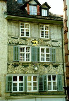 Grünes Haus, Basel, Schweiz