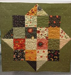 Ormond Beach Quilts- Fall Table topper