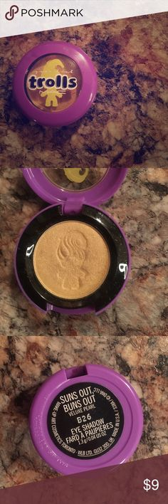 """MAC Trolls""""Suns Out Buns Out"""" Eyeshadow i used the color once--no box or tags just the eyeshadow. MAC Cosmetics Makeup Eyeshadow"""