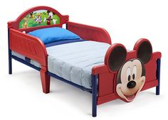 Delta Children's Products Mickey Mouse 3D Toddler Bed -- For more information, visit image link. (This is an affiliate link) #CozyHomeDecor