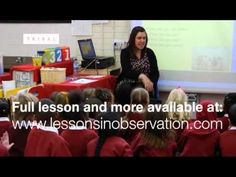 Lesson observation: Year 1 Literacy KS1 (excerpt) - YouTube