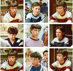 Freaks and Geeks - Sam Weir's faces. Hahahaha!! This is the best!! <3 this show!